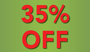 35% off everything in the store